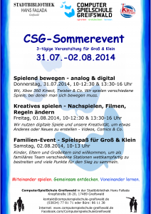 CSG-Sommerevent_2014_A3-Flyer